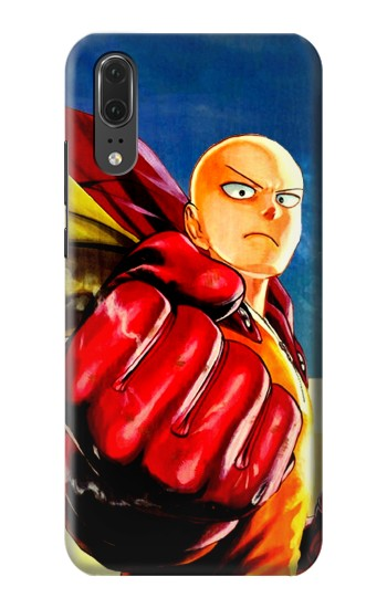 Printed Saitama One Punch Man Huawei P20 Case