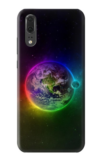 Printed Colorful Planet Huawei P20 Case