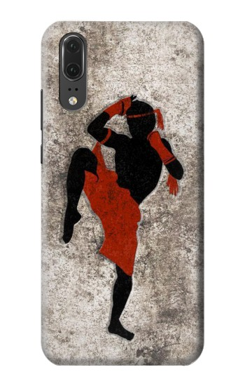 Printed Muay Thai Fight Boxing Huawei P20 Case
