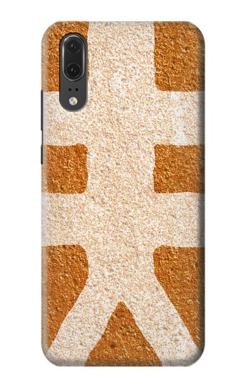 Printed The Fifth Element Symbol Huawei P20 Case