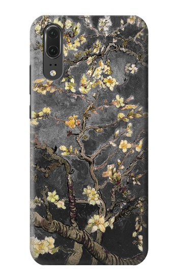 Printed Black Blossoming Almond Tree Van Gogh Huawei P20 Case