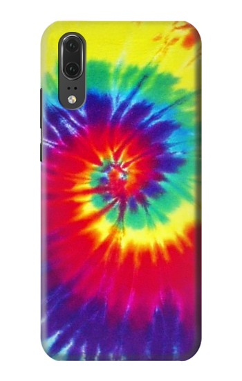 Printed Tie Dye Fabric Color Huawei P20 Case