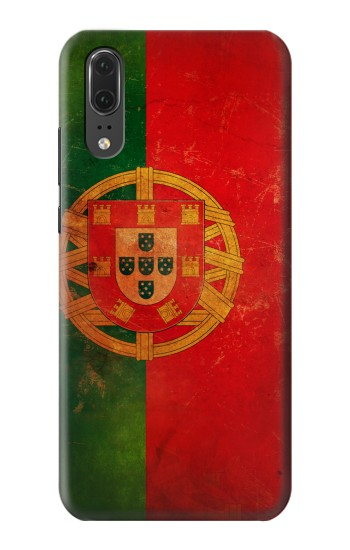 Printed Vintage Portugal Flag Huawei P20 Case