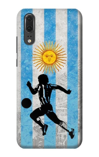 Printed Argentina Football Flag Huawei P20 Case