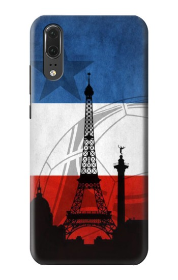 Printed France Football Flag Huawei P20 Case