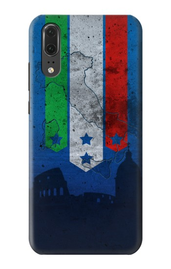 Printed Italy Football Flag Huawei P20 Case