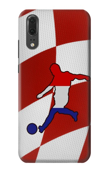 Printed Croatia Football Flag Huawei P20 Case