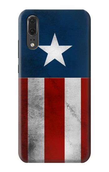 Printed Captain Star Flag of America Huawei P20 Case