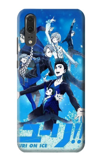 Printed Yuri On Ice Huawei P20 Case