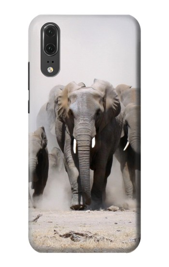 Printed African Elephant Huawei P20 Case