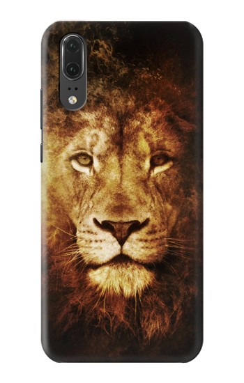 Printed Lion Huawei P20 Case