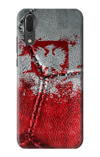 Printed Poland Flag Vintage Football 2018 Huawei P20 Case