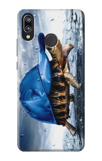 Printed Turtle in the Rain Huawei P20 Lite Case