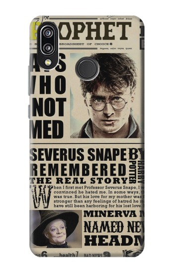 Printed Harry Potter Daily Prophet Huawei P20 Lite Case