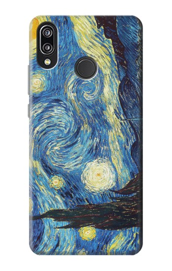 Printed Van Gogh Starry Nights Huawei P20 Lite Case