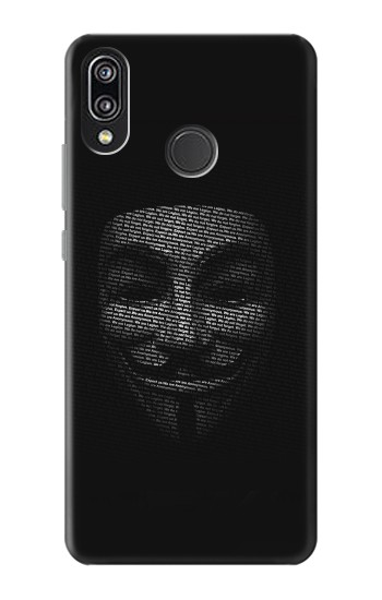 Printed Anonymous mask Huawei P20 Lite Case