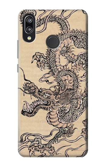 Printed Antique Dragon Huawei P20 Lite Case