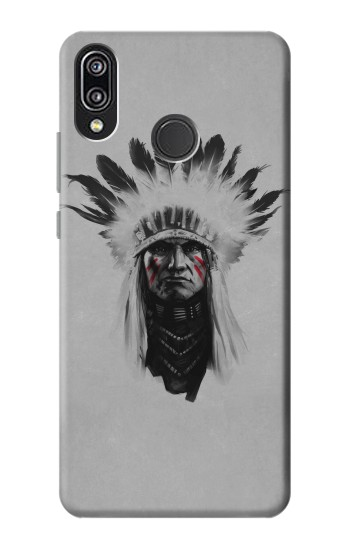 Printed Indian Chief Huawei P20 Lite Case