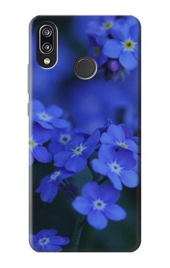 Printed Forget me not Huawei P20 Lite Case