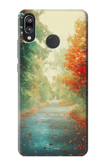 Printed Road Through The Woods Huawei P20 Lite Case