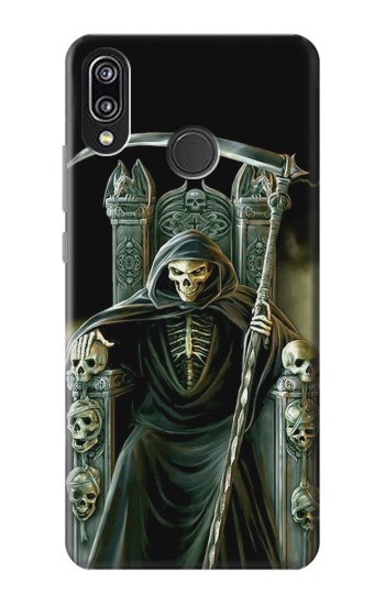 Printed Grim Reaper Skeleton King Huawei P20 Lite Case