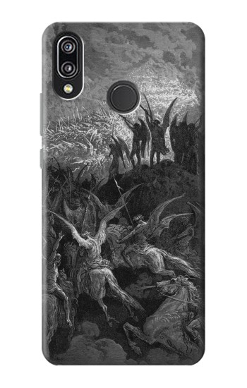 Printed Gustave Dore Paradise Lost Huawei P20 Lite Case