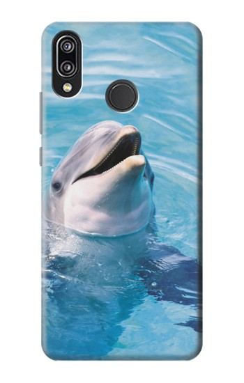 Printed Dolphin Huawei P20 Lite Case