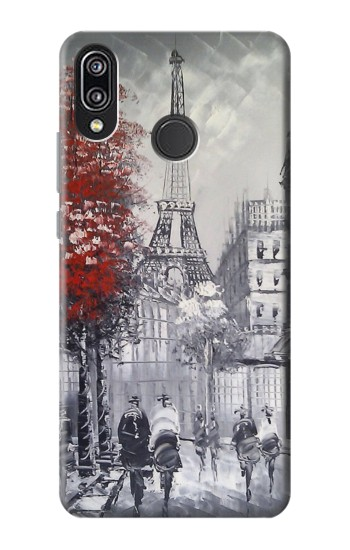 Printed Eiffel Painting of Paris Huawei P20 Lite Case