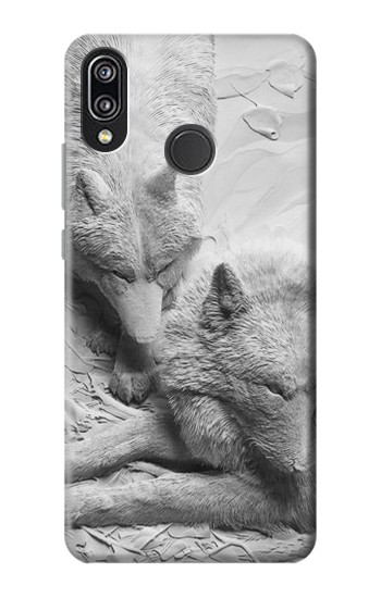 Printed Paper Sculpture Fox Huawei P20 Lite Case