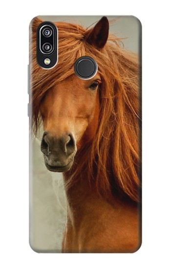 Printed Beautiful Brown Horse Huawei P20 Lite Case