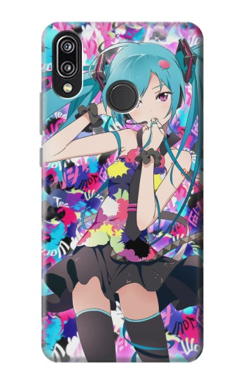 Printed Vocaloid Hatsune Miku Tell Your World Huawei P20 Lite Case