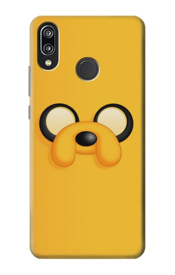 Printed Adventure Time Jake Face Huawei P20 Lite Case