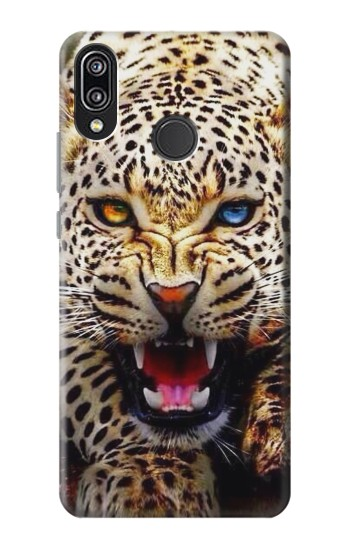 Printed Blue Eyed Leopard Huawei P20 Lite Case