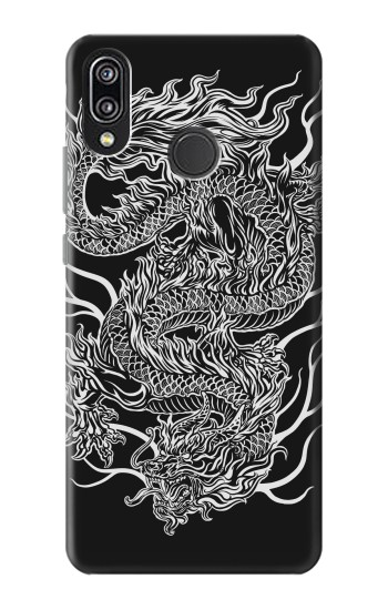 Printed Dragon Tattoo Huawei P20 Lite Case