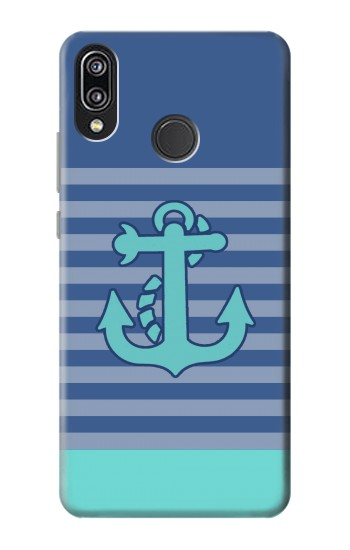 Printed Nautical Anchor Huawei P20 Lite Case