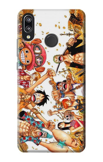 Printed One Piece Straw Hat Luffy Pirate Crew Huawei P20 Lite Case
