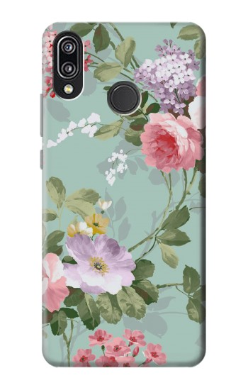 Printed Flower Floral Art Painting Huawei P20 Lite Case