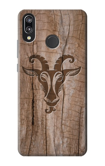 Printed Goat Wood Graphic Printed Huawei P20 Lite Case