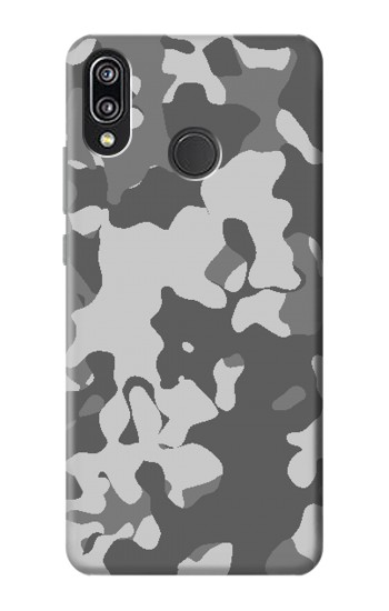 Printed Gray Camo Camouflage Graphic Printed Huawei P20 Lite Case
