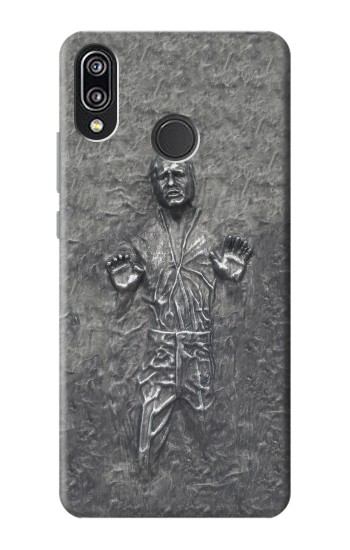 Printed Han Solo in Carbonite Huawei P20 Lite Case
