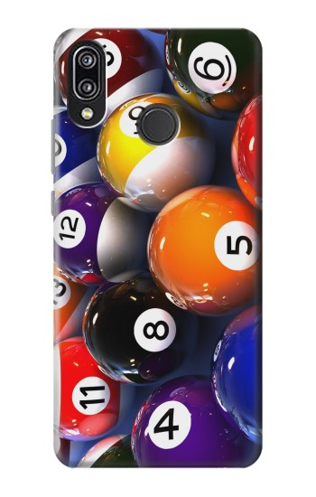 Printed Billiard Pool Ball Huawei P20 Lite Case