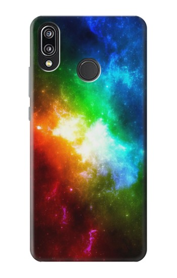 Printed Colorful Rainbow Space Galaxy Huawei P20 Lite Case