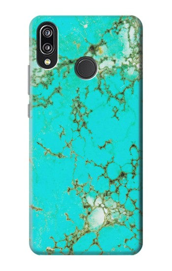 Printed Turquoise Gemstone Texture Graphic Printed Huawei P20 Lite Case