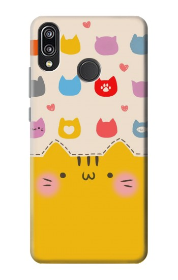 Printed Cute Cat Pattern Huawei P20 Lite Case