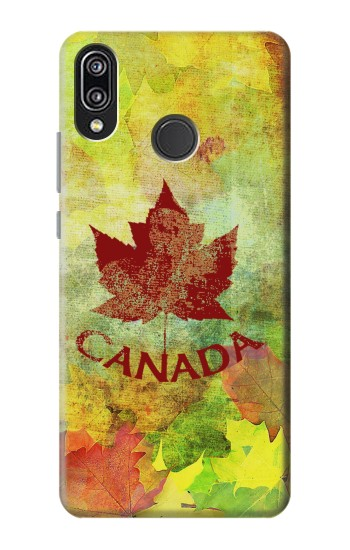Printed Canada Autumn Maple Leaf Huawei P20 Lite Case