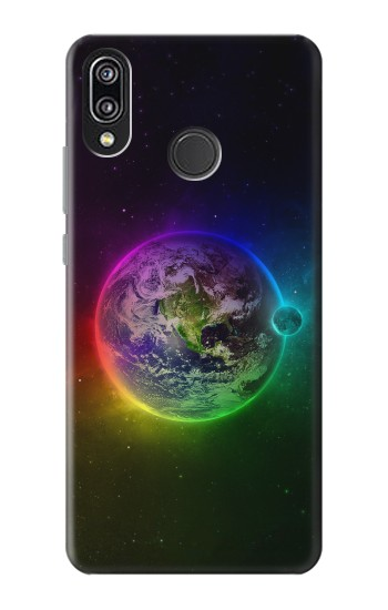 Printed Colorful Planet Huawei P20 Lite Case