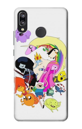 Printed Adventure Time Charactors Huawei P20 Lite Case