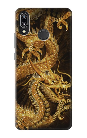 Printed Chinese Gold Dragon Printed Huawei P20 Lite Case