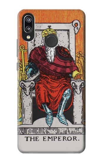 Printed Tarot Card The Emperor Huawei P20 Lite Case