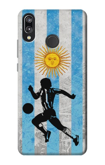 Printed Argentina Football Flag Huawei P20 Lite Case